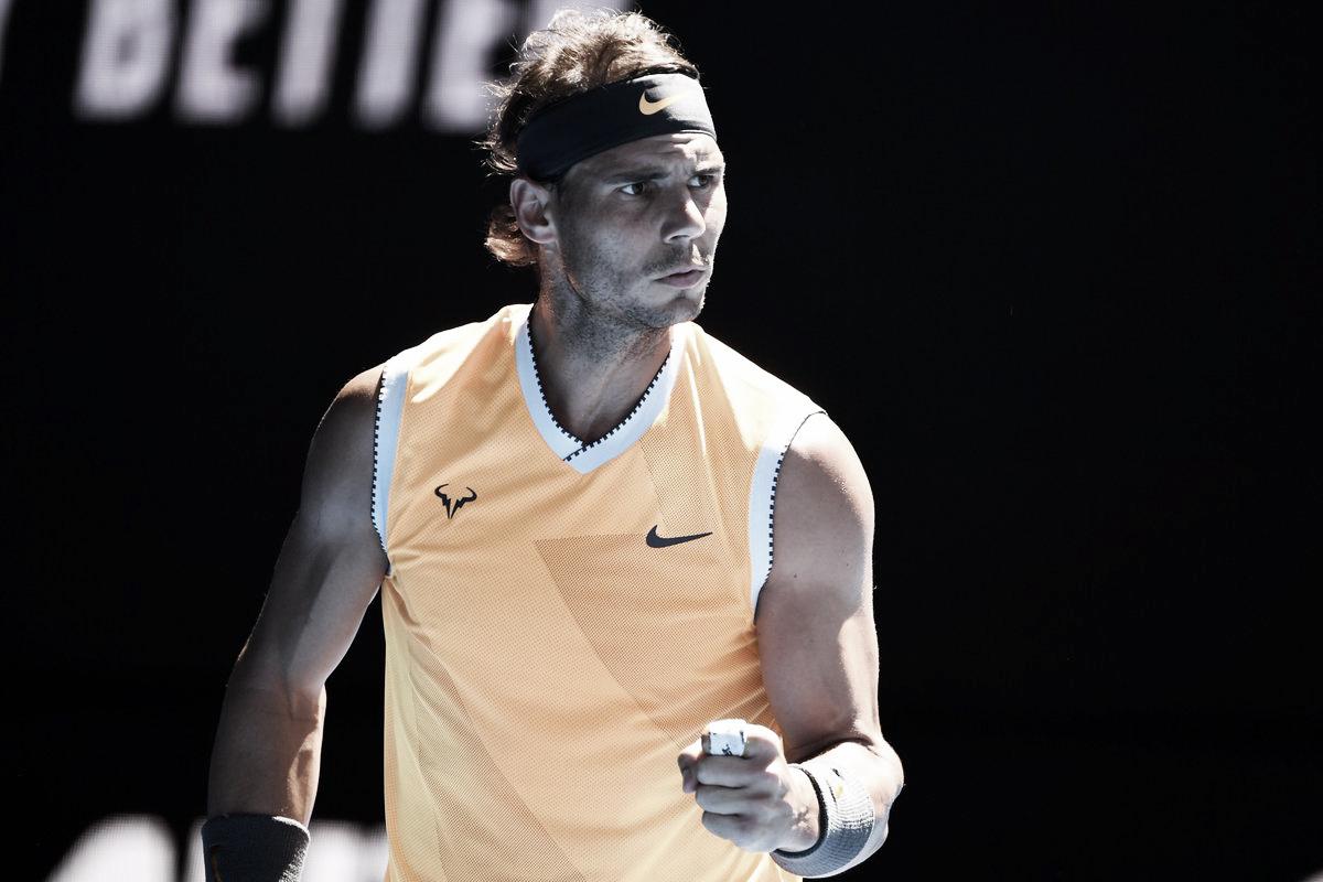 Sem tomar conhecimento, Nadal passa por Berdych e avança às quartas do Australian Open