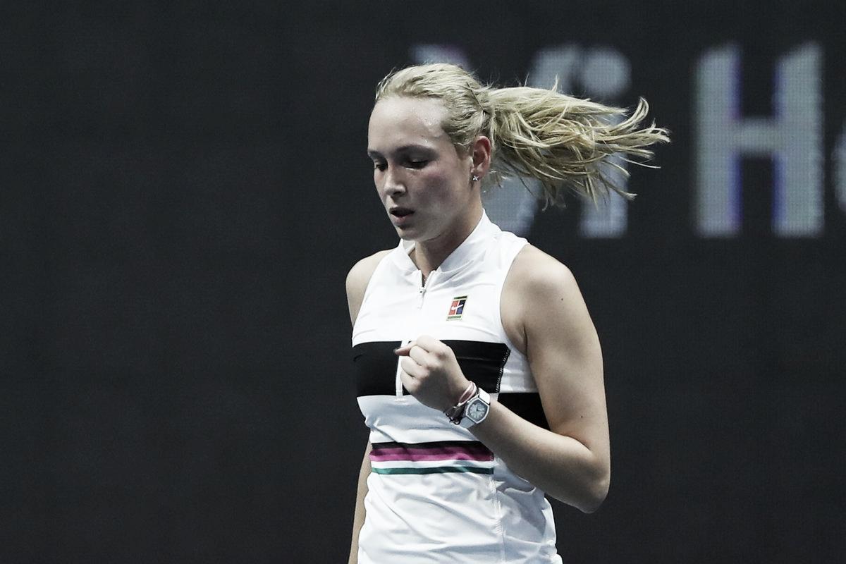 Vekic surpreende Kvitova e avança às semis em São Petersburgo