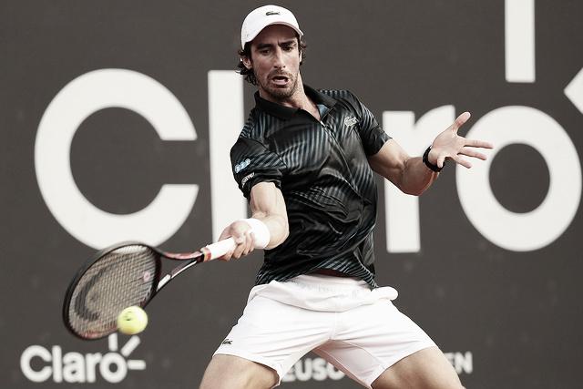Cuevas supera Londero, vai às quartas e segue vivo na briga pelo bicampeonato do Rio Open