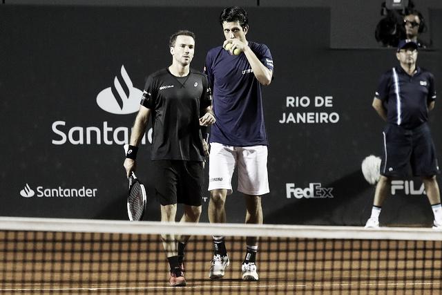 """Após derrota, Soares/Melo reconhecem méritos de compatriotas: """"Jogaram melhor"""""""