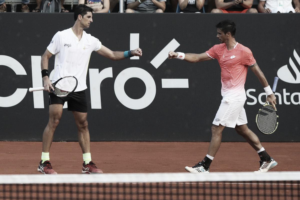 Bellucci/Dutra Silva batem Jebavy/Molteni e colocam o Brasil na final do Rio Open