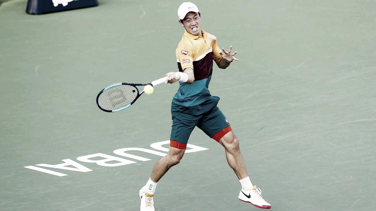 Cabeça de chave número um, Nishikori bate Paire em sua estreia no ATP 500 de Dubai