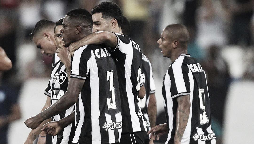 Resultado final Botafogo x Cuiabá pela Copa do Brasil 2019 (3x0)