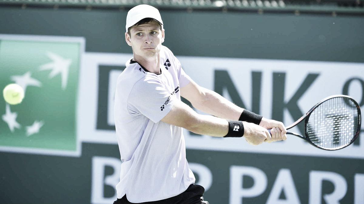 De virada, Hurkacz vence Nishikori pela segunda semana consecutiva e avança em Indian Wells