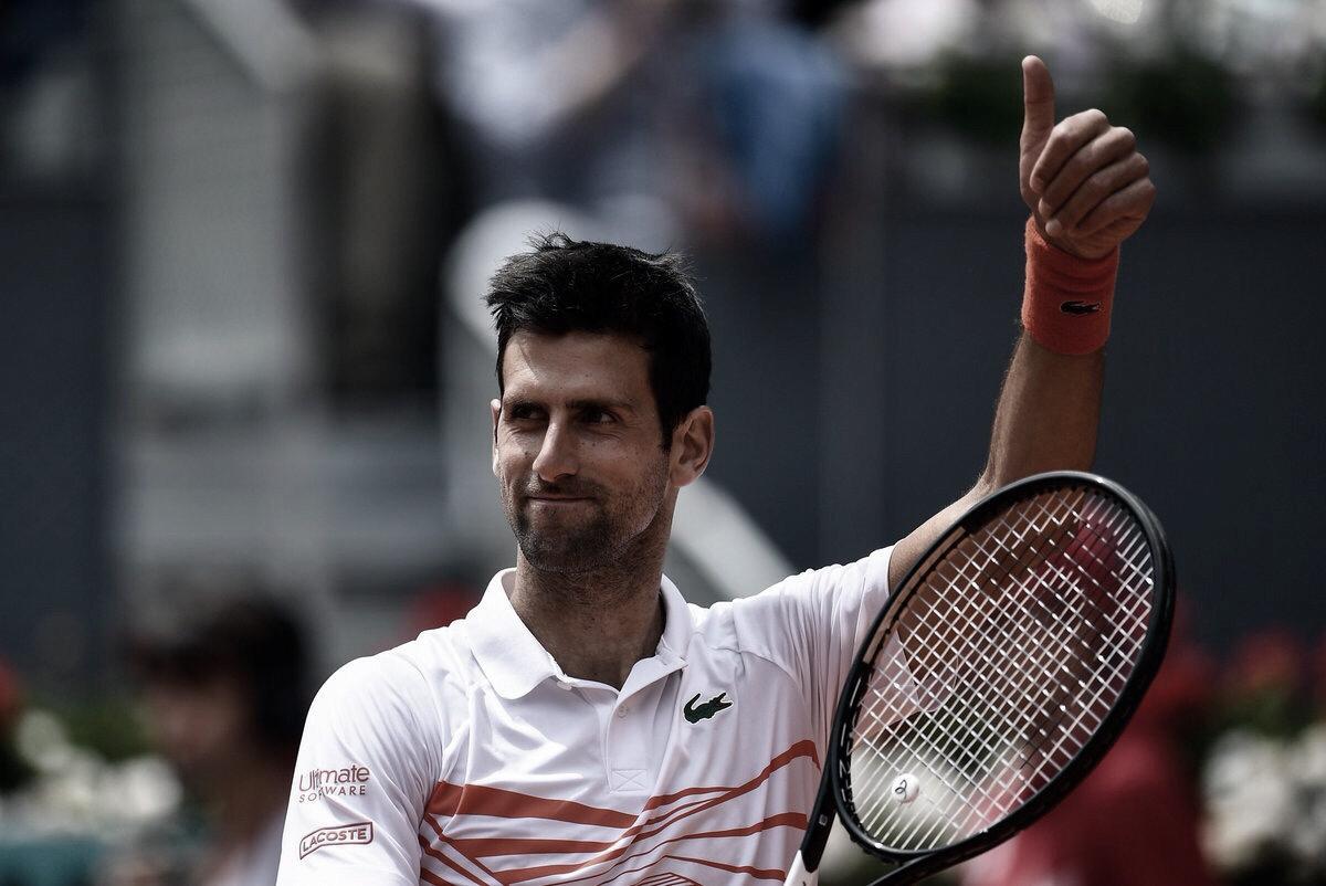 Djokovic vence bem, aumenta freguesia sobre Chardy e se garante nas quartas em Madrid