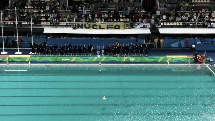 Rússia vence Brasil com tranquilidade na segunda partida do Polo Aquático Feminino