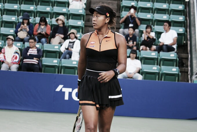 Osaka despacha Tomova em sets diretos e se garante nas quartas do Pan Pacific Open