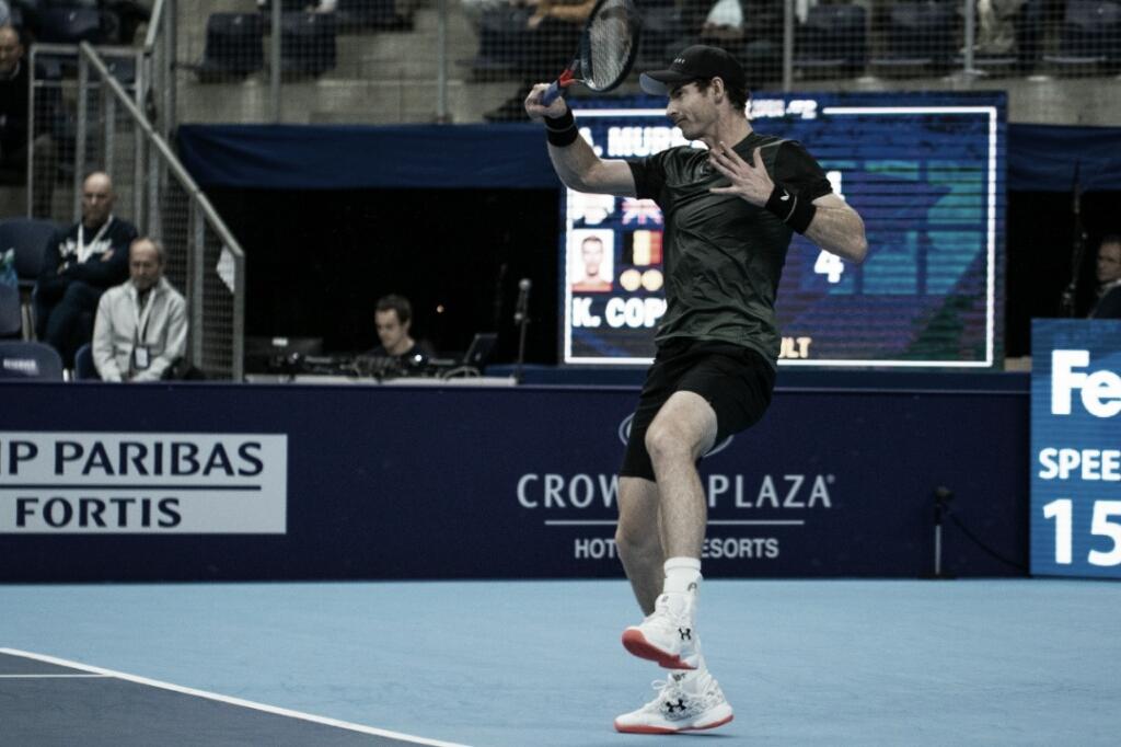 Murray passa por Coppejans e estreia com vitória no ATP 250 da Antuérpia