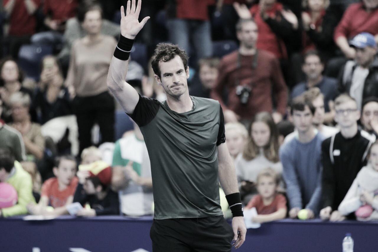 Murray se complica, mas vence Copil e avança às semis do ATP 250 da Antuérpia