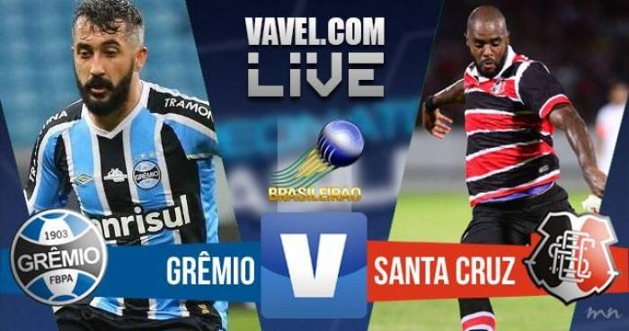 Resultado Grêmio x Santa Cruz no Campeonato Brasileiro 2016 (0-0)