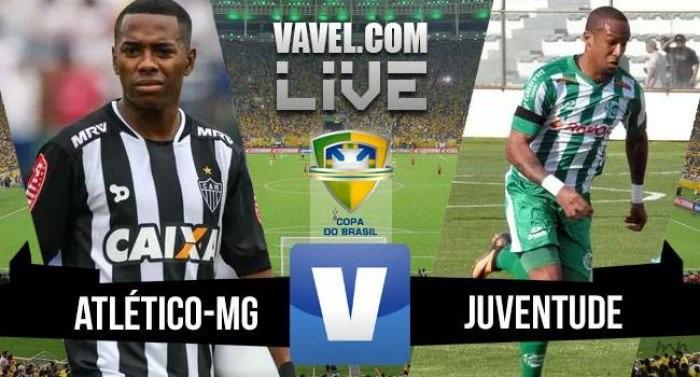 Resultado Juventude x Atlético Mineiro na Copa do Brasil (1-0) (2-4 nos pênaltis)