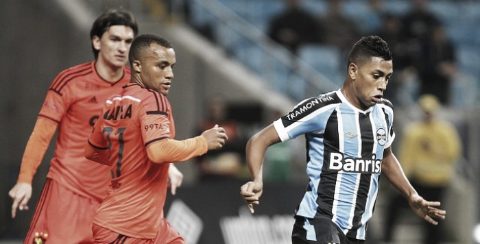 Resultado Grêmio x Sport no Campeonato Brasileiro (0-3)