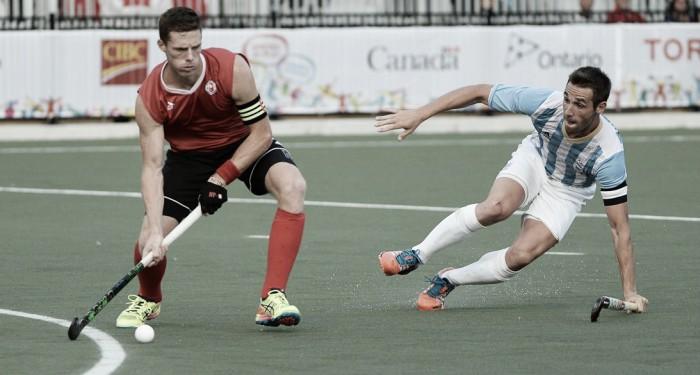 Argentina domina, vence e complica Canadá no Grupo B do hóquei masculino