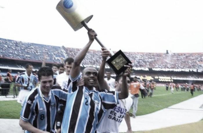 Aproveitamento do Grêmio nas chegadas em fases finais da Copa do Brasil
