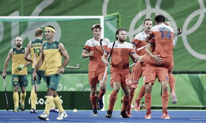 Holanda elimina bicampeã mundial Austrália e enfrentará Bélgica na semifinal do Hóquei