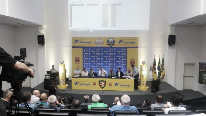 Congresso Técnico do Campeonato Gaúcho 2017 adia definição das cotas de televisão