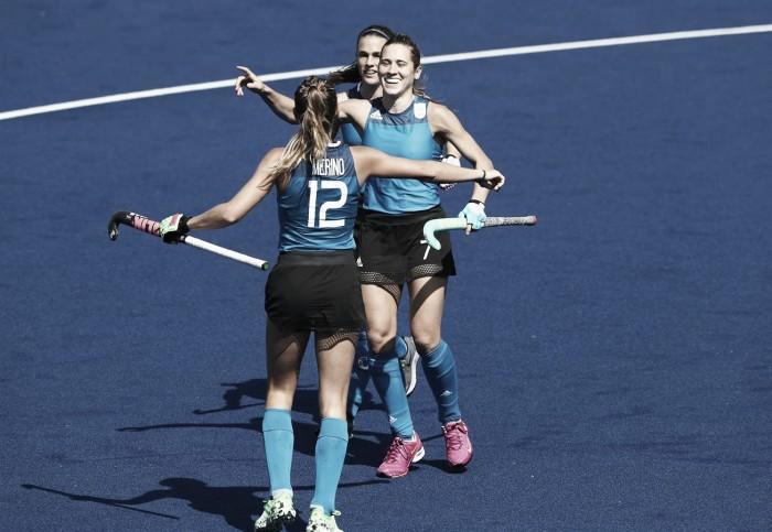 Argentina elimina Índia e está nas quartas de final do Hóquei feminino da Rio 2016