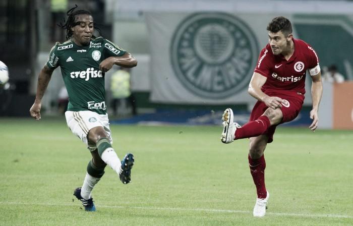 Resultado Palmeiras x Internacional no Campeonato Brasileiro 2016 (1-0)