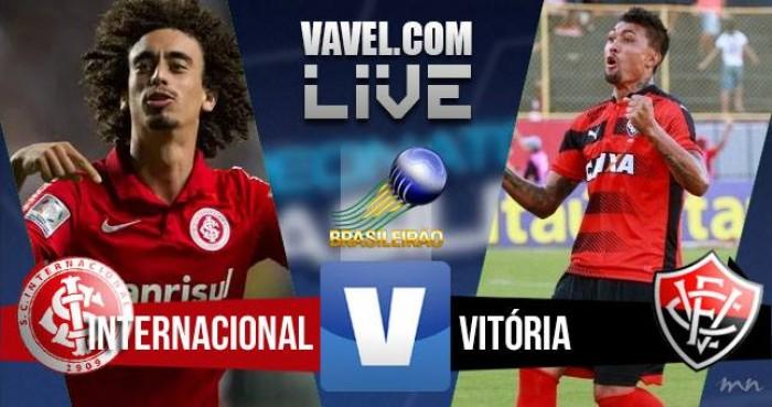 Vitória vence o Internacional no Beira-Rio e passa a frente na tabela do Campeonato Brasileiro 2016 (0-1)