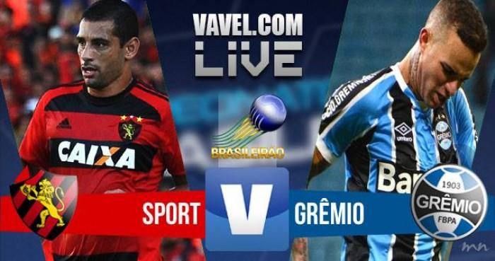 Resultado Sport x Grêmio no Campeonato Brasileiro 2016 (4-2)