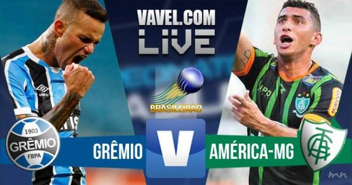 Resultado: Grêmio vence América-MG no Campeonato Brasileiro 2016 (3-0)