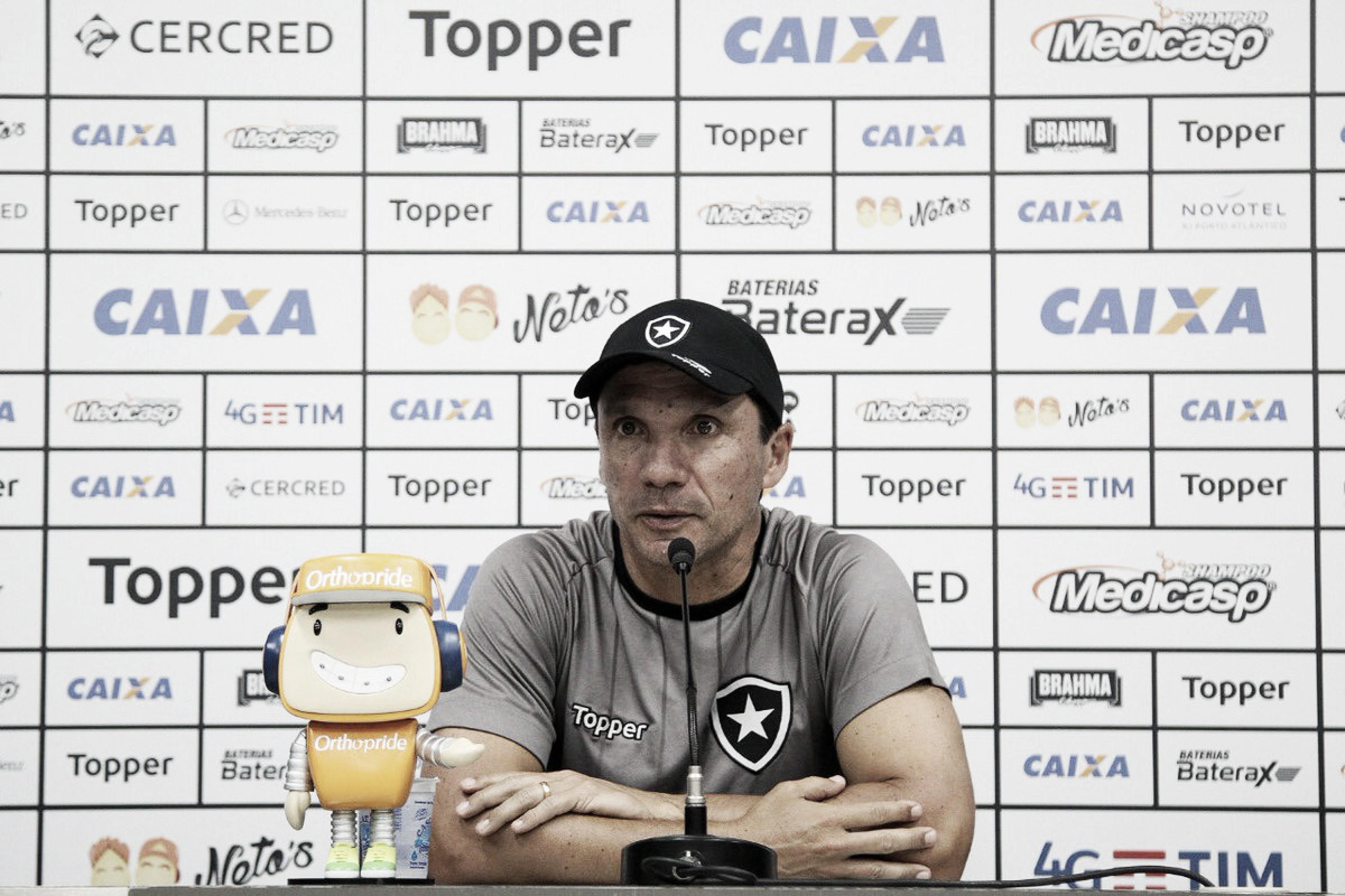 Zé Ricardo diz entender cobrança, mas pede apoio da torcida para a sequência do Brasileirão