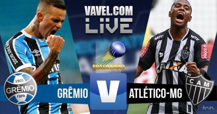 Resultado Grêmio x Atlético-MG no Campeonato Brasileiro (1-1)