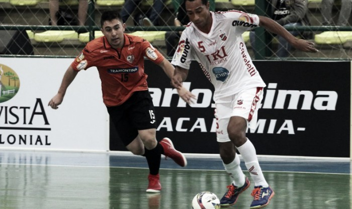 Atlântico de Erechim vira sobre Carlos Barbosa e conquista Campeonato Gaúcho de Futsal