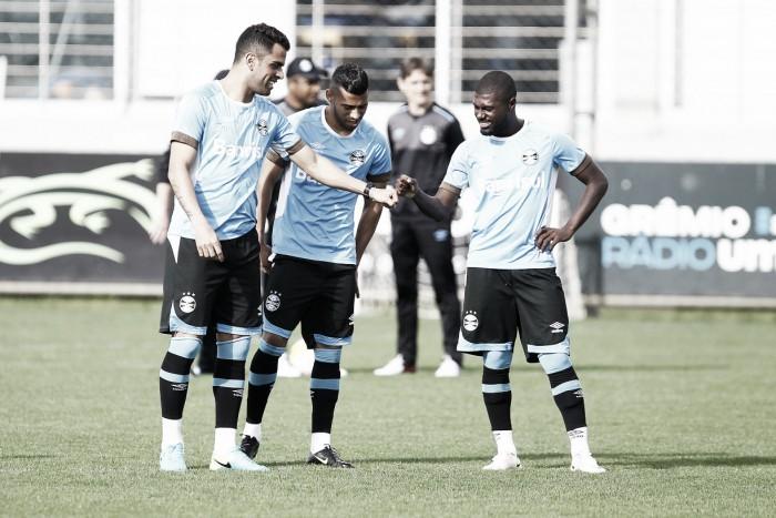 Renovações do Grêmio com lateral Iago e volante Kaio são confirmadas no BID