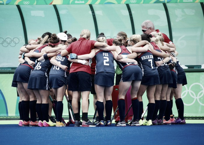 Estados Unidos supera favoritismo da Austrália pelo Grupo B do Hóquei feminino