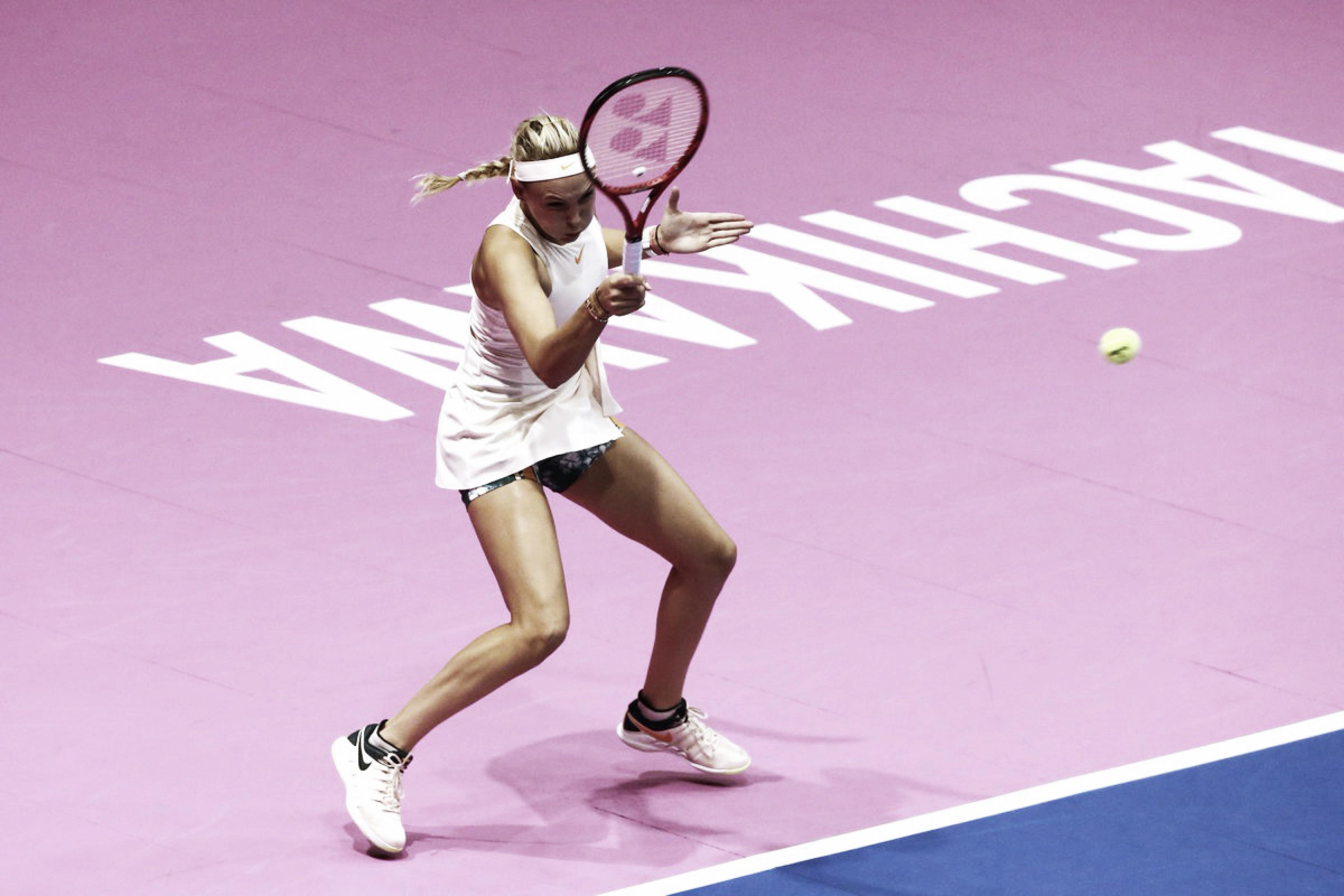 Com grande recuperação no segundo set, Vekic vence Konta e segue firme no WTA de Tóquio