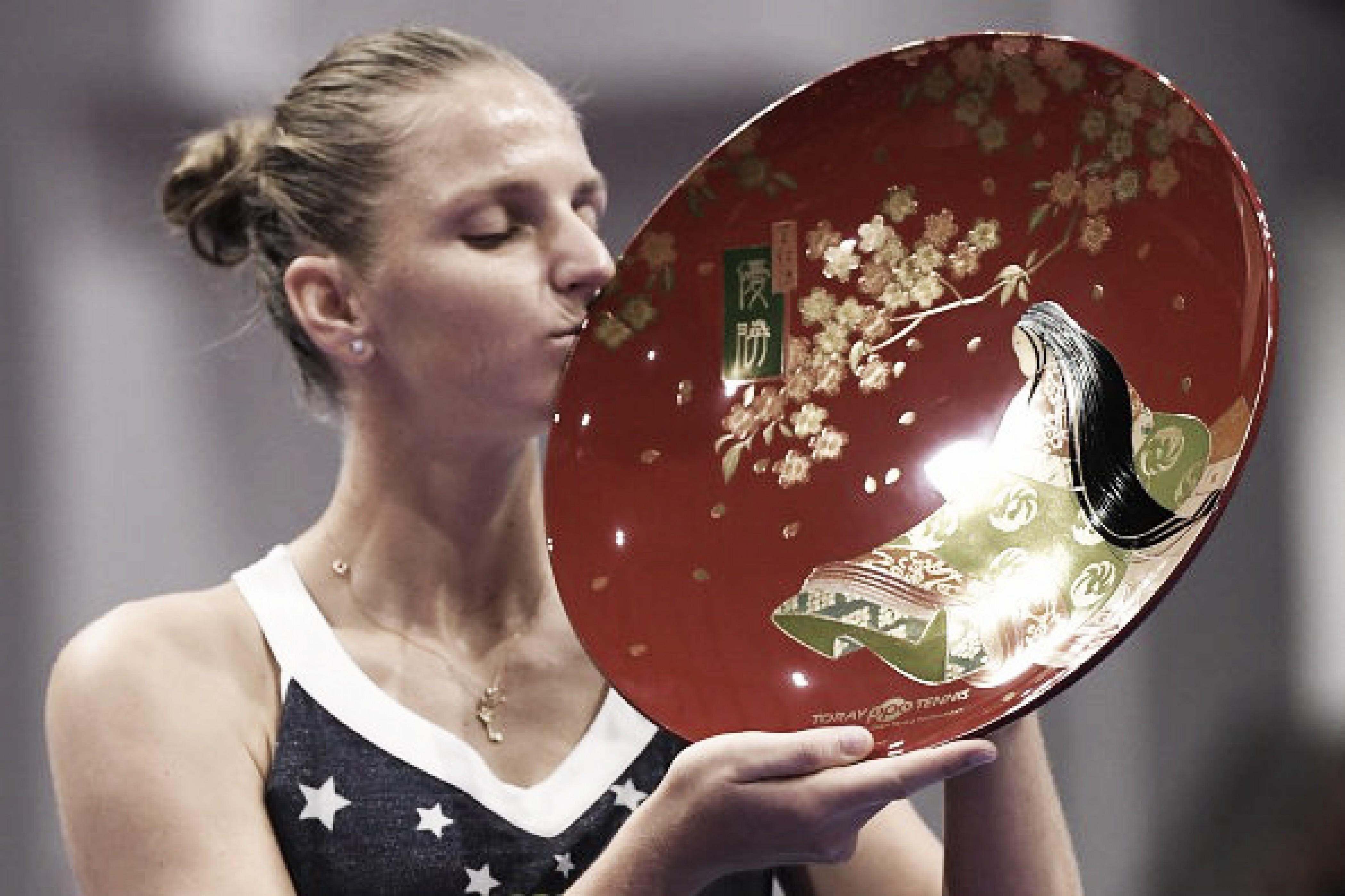 No detalhe: Pliskova vence Osaka e conquista título do WTA Premier de Tóquio