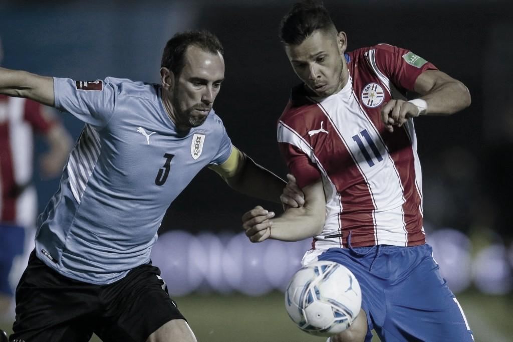 Uruguai e Paraguai empatam, mas seguem no G-5 das Eliminatórias