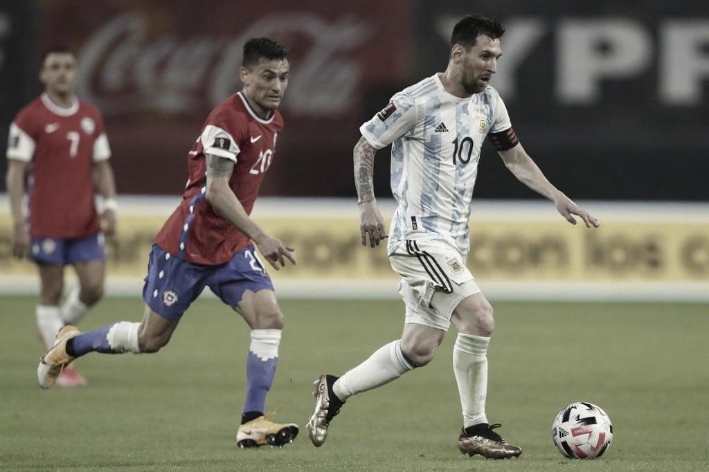 Em casa, Argentina fica no empate com Chile e mantém vice-liderança
