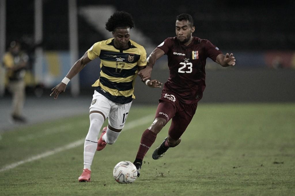 Venezuela e Equador ficam no empate pela Copa América