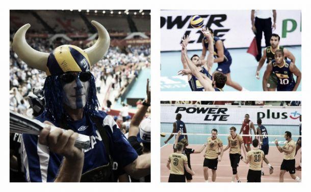 Championnats du Monde de volley-ball 2014 (Groupe B) : le Brésil, l'Allemagne et la Finlande au-dessus