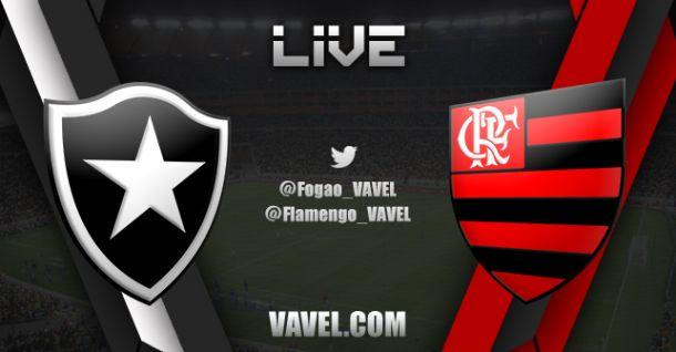Resultado do jogo Botafogo x Flamengo ao vivo no Campeonato Brasileiro 2014