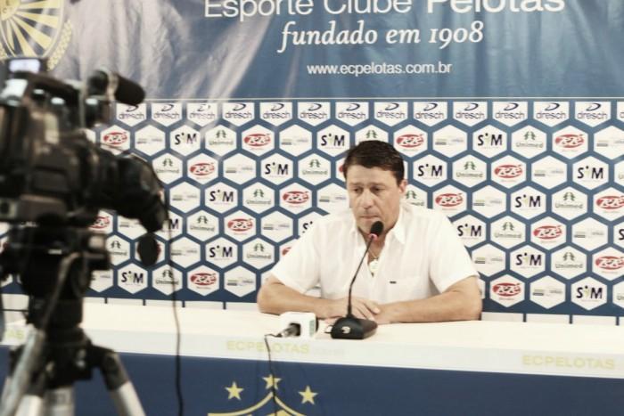 Técnico Marcelo Rospide é demitido do Pelotas com apenas quatro jogos à frente do time