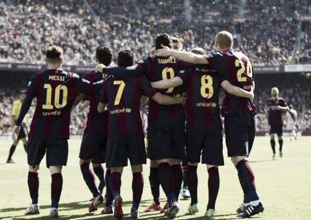Barcellona: game, set and match. 6-1 al Rayo e primato in Liga