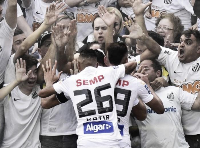 Santos bate Audax na Vila Belmiro e conquista bicampeonato paulista
