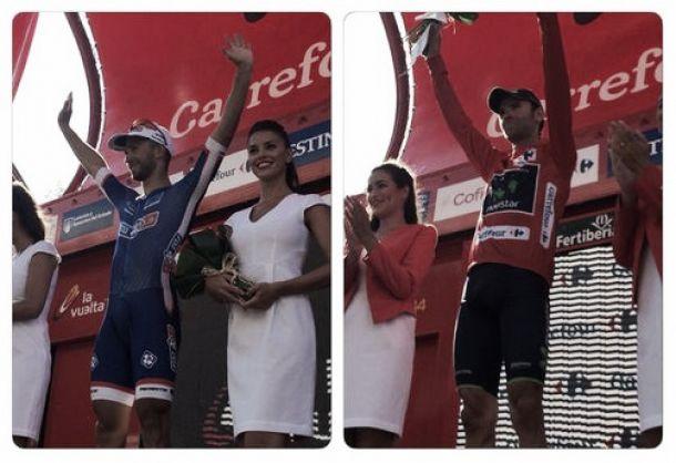 Tour d'Espagne 2014 : Bouhanni remporte le sprint, Valverde nouveau maillot rouge