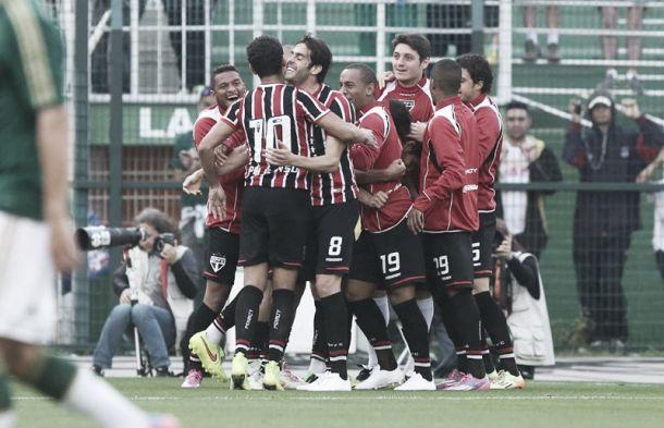 Kardec marca no fim e São Paulo vence clássico contra o Palmeiras