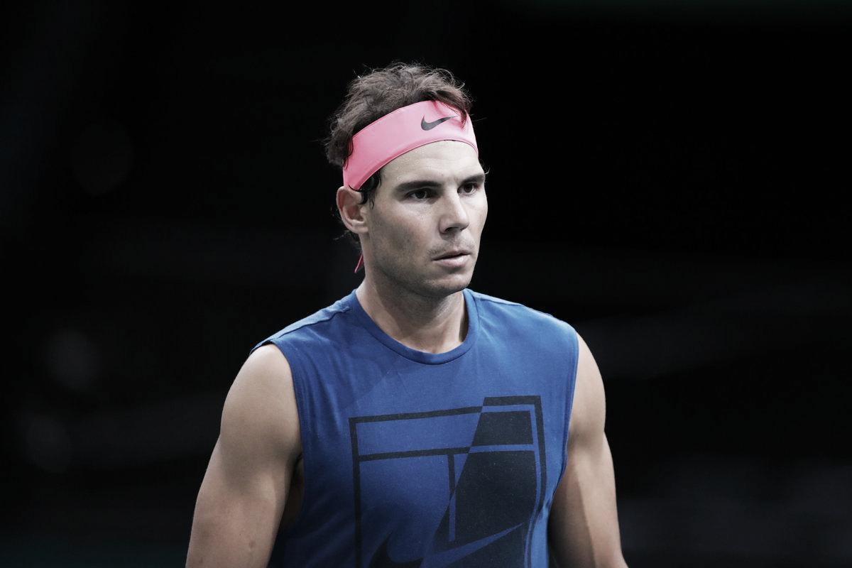 Nadal desiste do Masters 1000 de Paris e Djokovic voltará a ser número um do mundo