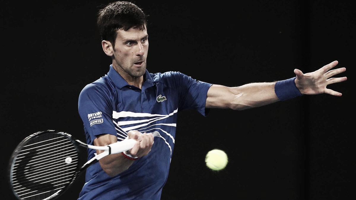 Tetracampeão, Djokovic estreia com vitória sobre Fratangelo no Masters 1000 de Indian Wells