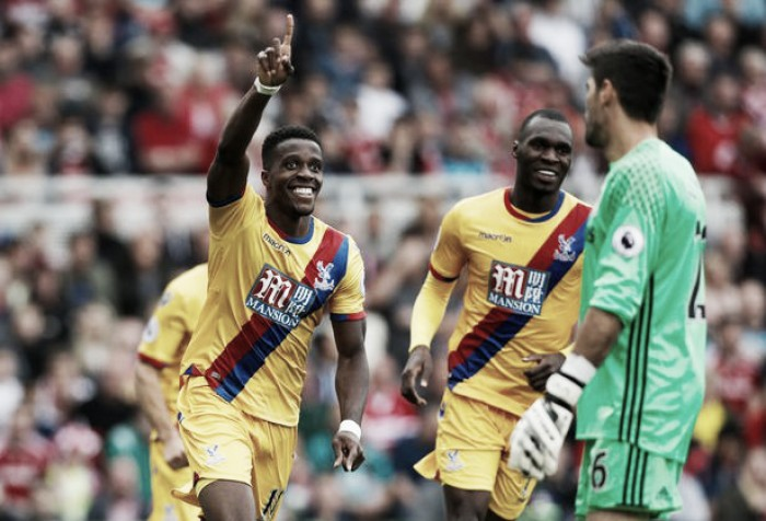 Middlesbrough vs Crystal Palace analysis: Zaha Flourishes as Palace end Middlesbrough's unbeaten start