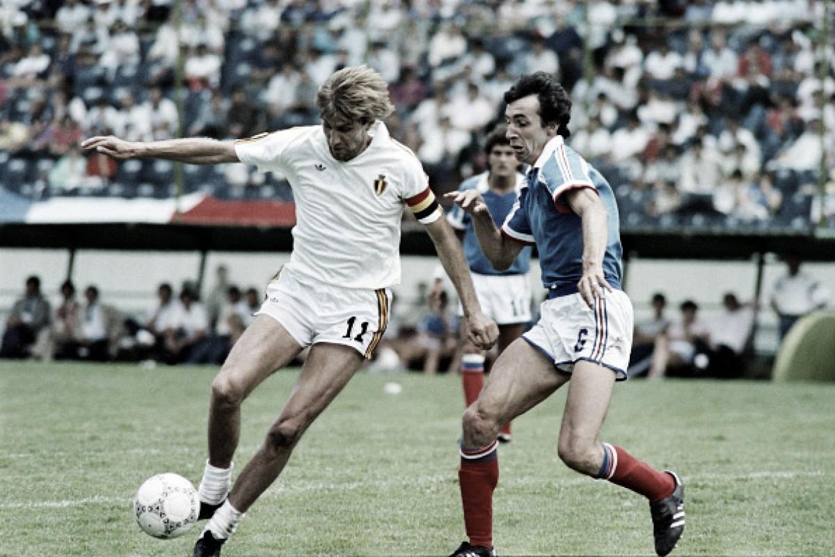 Recordar é viver: França bateu Bélgica na prorrogação e ficou com o terceiro lugar da Copa de 1986