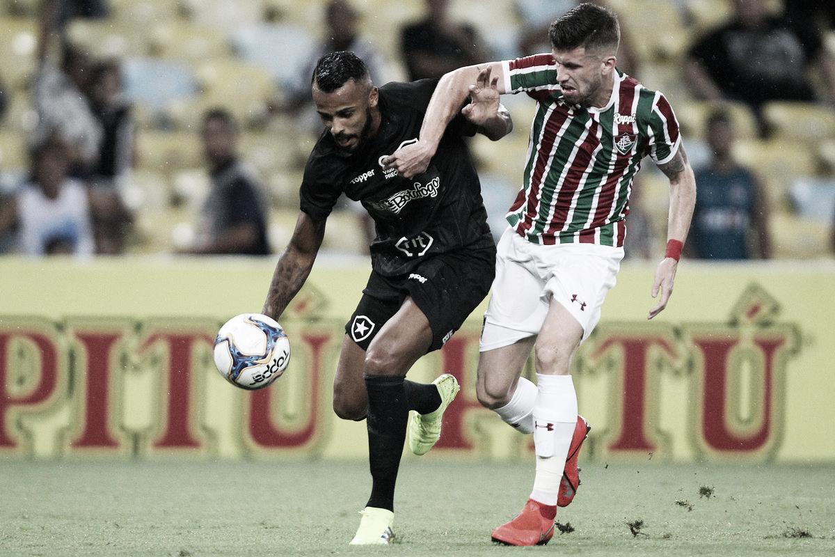 Fluminense e Botafogo apenas empatam em jogo franco no Maracanã
