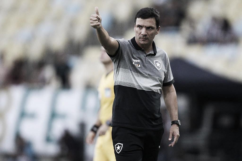 Zé Ricardo garante lutar até o fim por vaga nas semis do Carioca e analisa empate com o Fluminense