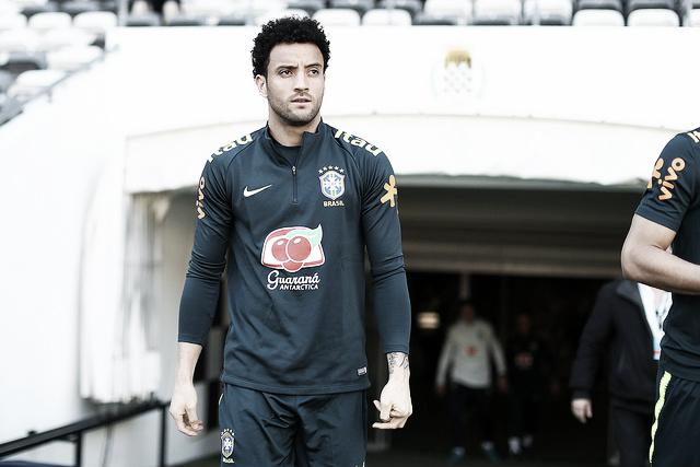 """De volta à Seleção Brasileira, Felipe Anderson revela ansiedade: """"Será como uma estreia"""""""