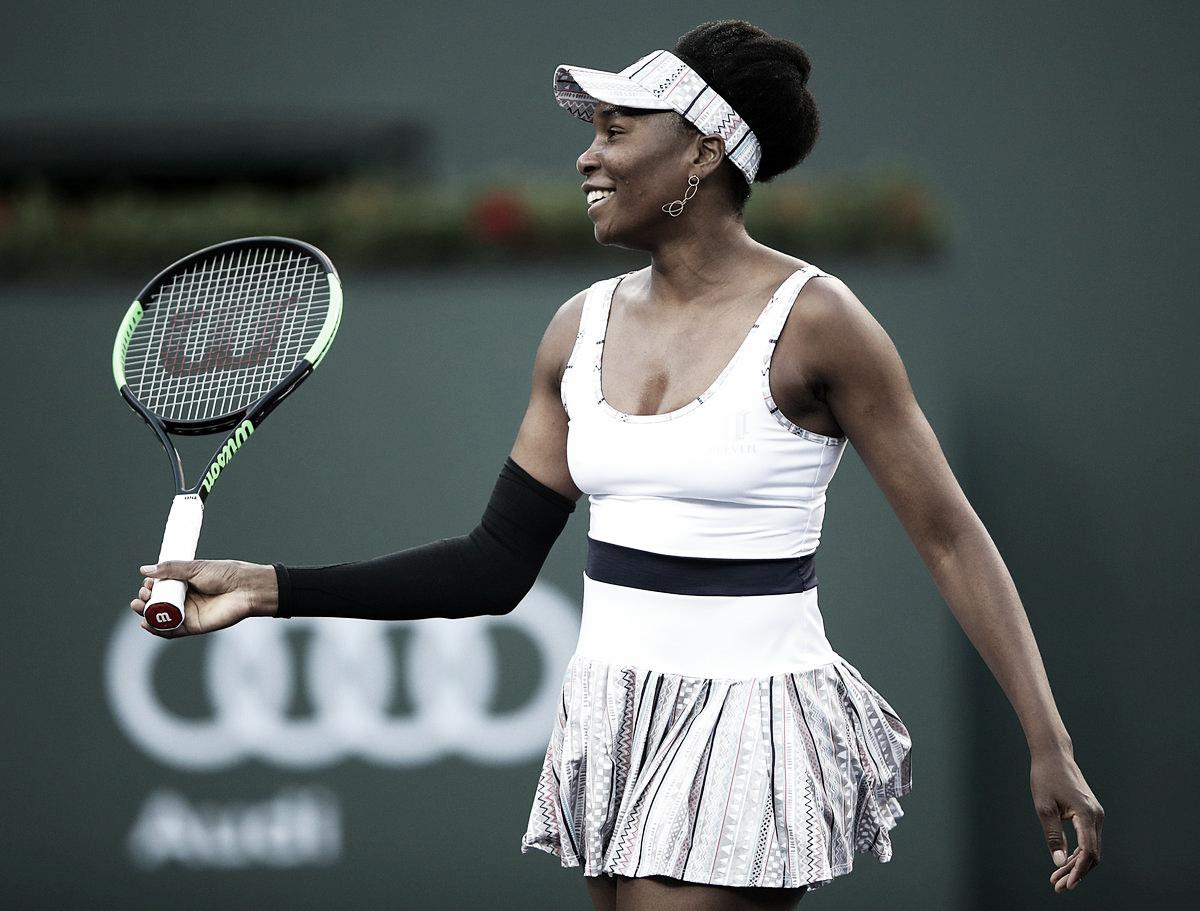 Venus Williams passa por Jakupovic e estreia com o pé direito no WTA de Miami